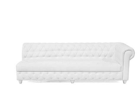 16 Inch White Chesterfield Sofa High Style Rentals Chesterfield Sofa White