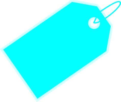 tag clipart aqua tag clip at clker vector clip