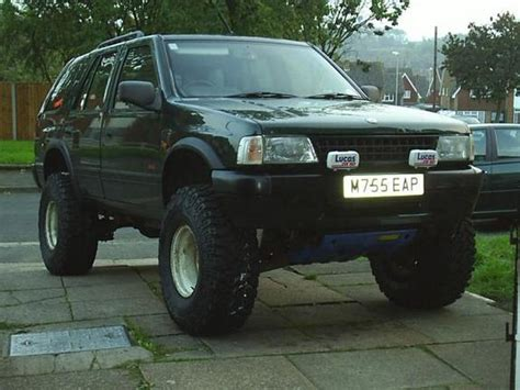 opel frontera modified bronco65 1995 vauxhall frontera specs photos