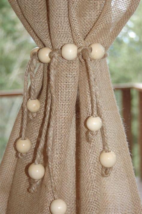 jute curtain tie backs 17 best ideas about curtain ties on pinterest diy