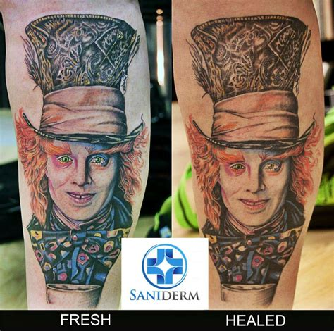 how to make a tattoo heal faster this is how healing with saniderm looks like it keeps the
