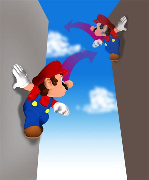 Mario Wall Mural the double jump convention in video games double jump