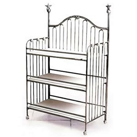 Iron Changing Table Curved Back Iron Changing Table With Finials