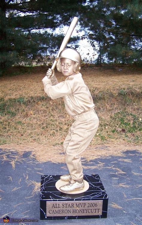 mvp trophy living statue costume