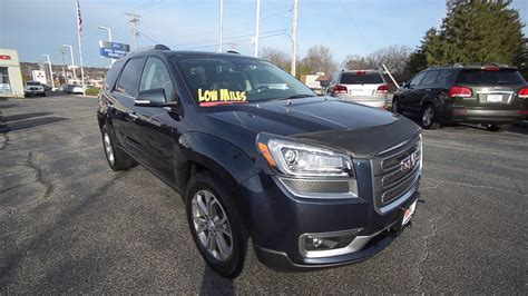 Rock River Ford by 2015 Gmc Acadia Slt At Rock River Ford In Rockford Il