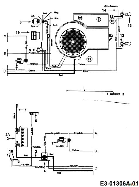 mtd lawn tractors b 130 13aa478f678 2001 wiring diagram single cylinder spareparts