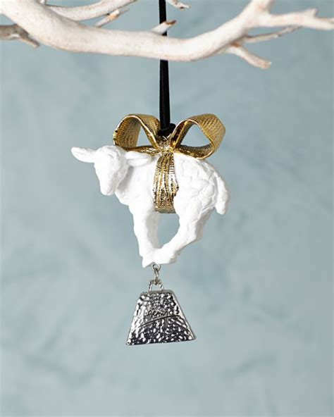michael aram little lamb christmas ornament