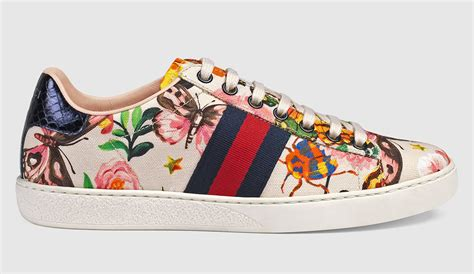 Gucci Floral White Pattern 2017 shop gucci bags shoes and accessories in an exclusive