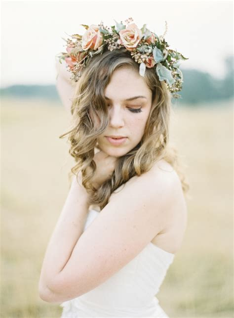 Flower Crown fabulous flower crowns the bridal hair accessory chic vintage brides