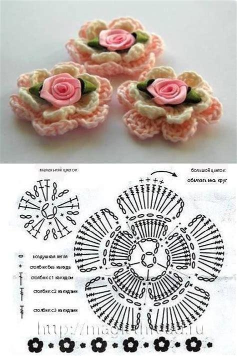 fiore a uncinetto schema schema per fare fiore a uncinetto