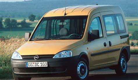opel combo 2004 opel combo minivan mpv 2004 2011 opiniones datos