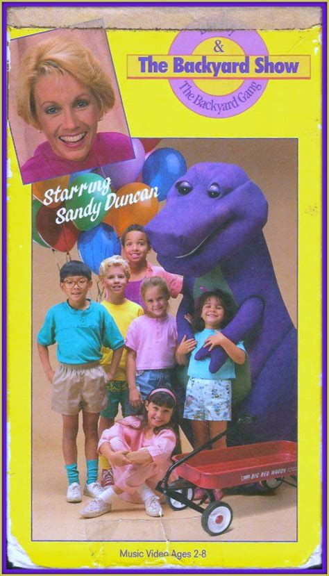 Barney The Backyard Show Part 1 Barney And Friends A Magical Place For A Child S