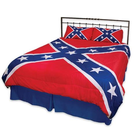 confederate flag bed set rebel flag 3 piece comforter set dl grandeurs confederate rebel goods