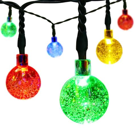 christmas decorative light balls christmas decorative led string lights balls w 8 modes