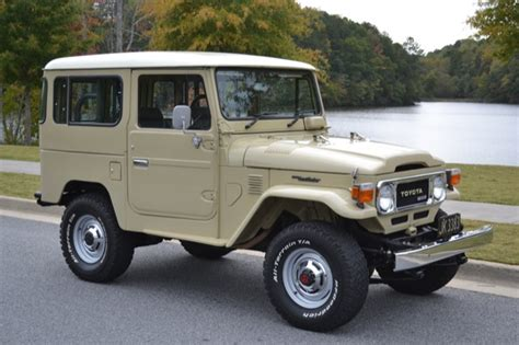 Vintage Toyota Land Cruiser For Sale 1981 Toyota Land Cruiser Bj42 Diesel Fj40 Toyota Land