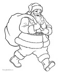 Christmas santa claus coloring pages provide hours fun for kids