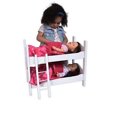 bunk beds for 18 inch dolls bunk bed for dolls fits 18 inch dolls import it all