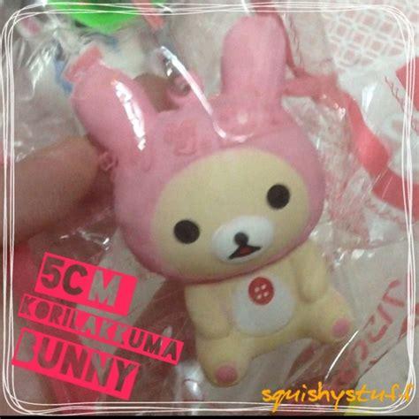 Squishy Licensed Woow Bunny Squishy Original squishystuff 5cm san x rilakkuma bunny squishy