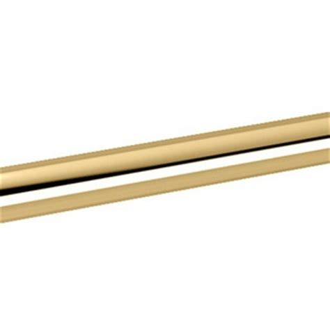 polished brass curtain rods gat800 rod shower rod shower curtain rod polished brass