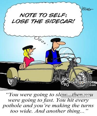 Lustige Motorrad Bilder Comic by Sidecar And Comics Pictures From Cartoonstock