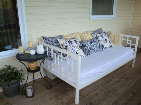 apprentice extrovert diy outdoor day bed reveal 7 gorgeous diy daybeds blissfully domestic