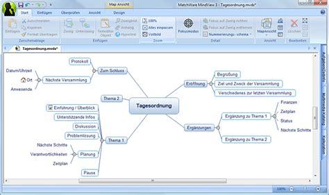 Vorlage Word Mindmap Mindview Heise