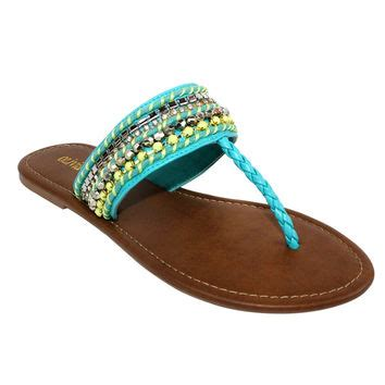 turquoise beaded sandals best turquoise beaded sandals products on wanelo
