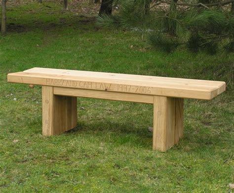green oak bench zen fsc green oak bench chris nangle furniture esi