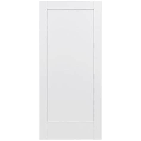 jeld wen 36 in x 80 in moda primed white 6 panel solid jeld wen 36 in x 80 in moda primed white 1 panel solid