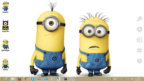 theme line despicable me 2 despicable me 2 theme for windows 7 and 8 ouo themes