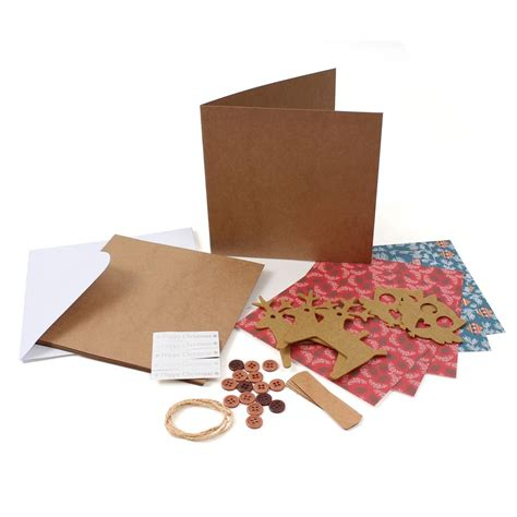 Paper Craft Kits - hobbycraft card kit assorted designs