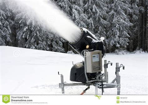 school in snow royalty free stock image image snow maker stock image image of snowcannon white