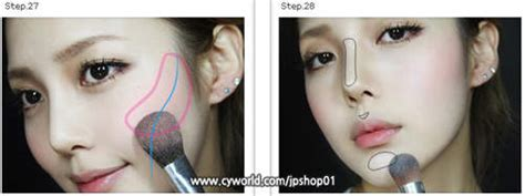 tutorial cara make up ala artis korea cara makeup ala barbie doll saubhaya makeup