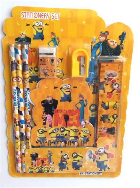 imagenes de kit escolares kit material escolar minions l 225 pis borracha apontador