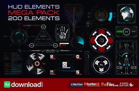 after effects template free phantom hud infographic 10 top hud infographics free after effects templates