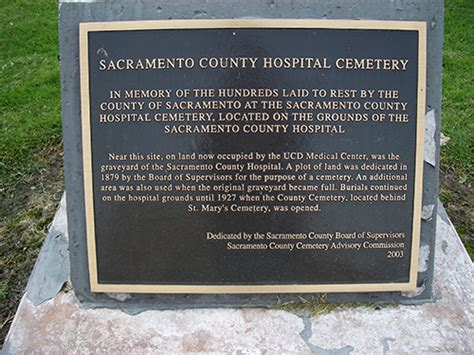 Sac County Records Indigent Burial In Sacramento County