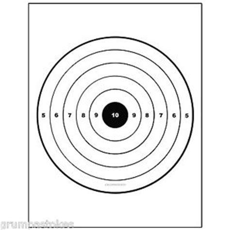 printable sniper training targets 50 bullseye airsoft shooting targets sniper rifle practice