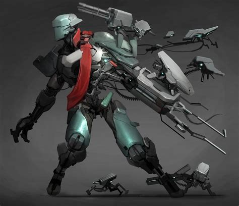 what is mecha beautiful mecha design by reza ilyasa