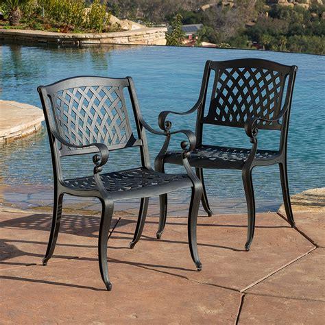 marietta outdoor 7 piece cast aluminum dining set review