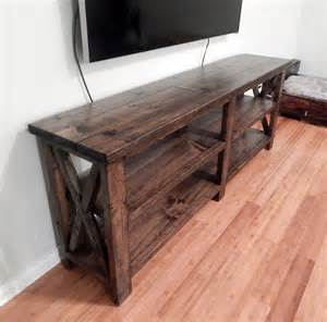 This console was stained using minwax dark walnut