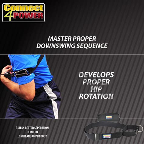 repeatable golf swing connect4power golf training strap build a powerful and