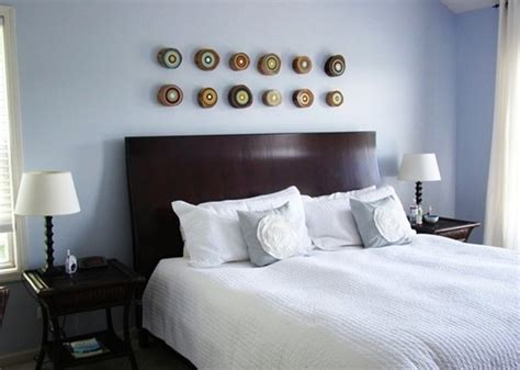 ordinary Over The Bed Wall Art #1: eclectic-bedroom.jpg