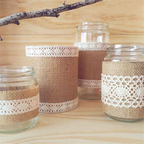 decorar macetas con arpillera resultado de imagen para latas decoradas para macetas