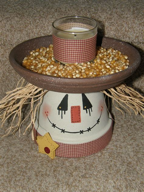 clay pot craft projects scarecrow terra cotta pot crafts