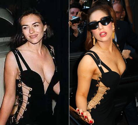 Buy Elizabeth Hurleys Safety Pin Versace Dress by Gaga Wears Versace S Elizabeth Hurley Safety Pin Dress