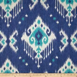 Ikat Home Decor Fabric Magnolia Home Fashions Dakota Ikat Ocean Discount