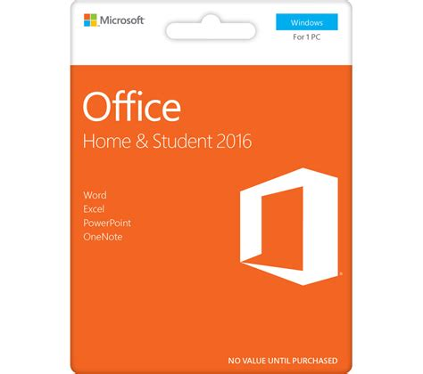 Microsoft Office Software buy microsoft office home student free delivery currys