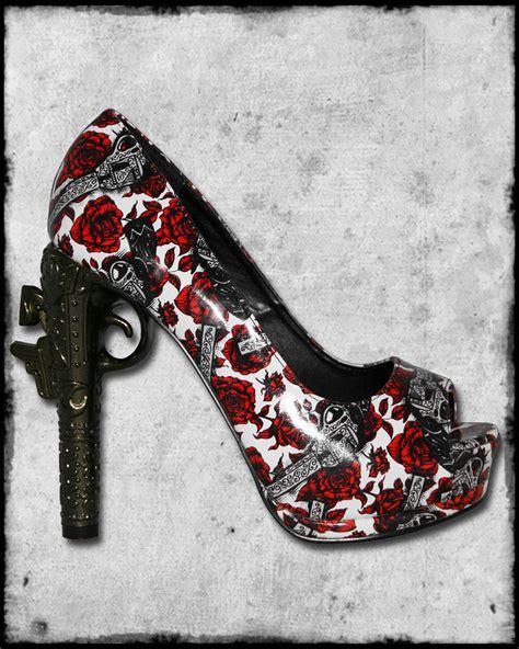 fast white black guns n roses vtg pistol