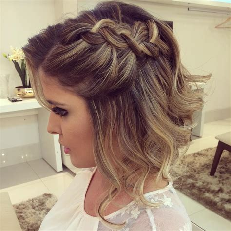 hairstyles for prom 2017 for short brown hair 20 gorgeous prom hairstyle designs for short hair prom