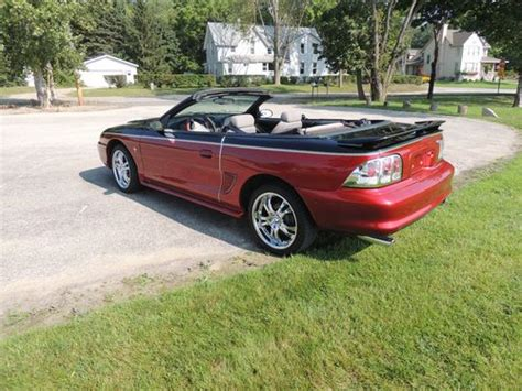 1996 ford mustang rims find used 1996 mustang convertible custom paint tires and